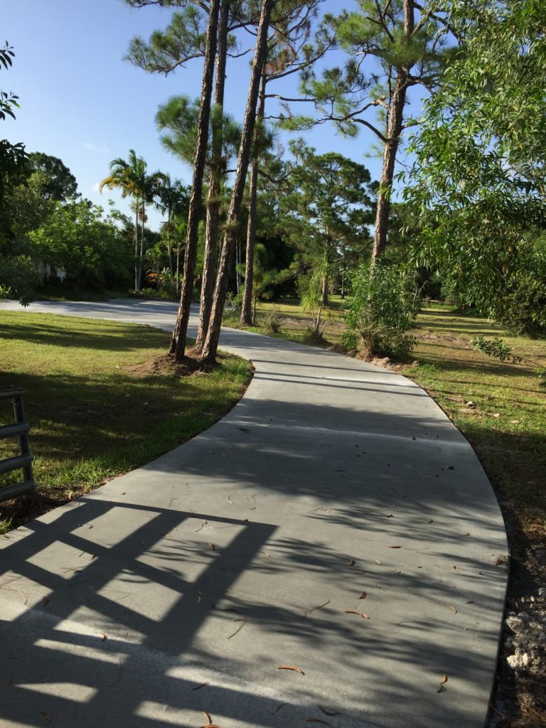 Concrete Driveway in Lake Worth, Florida